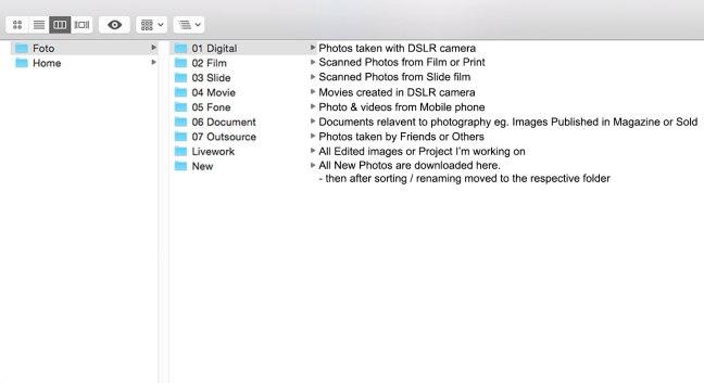 Folder Structure 01