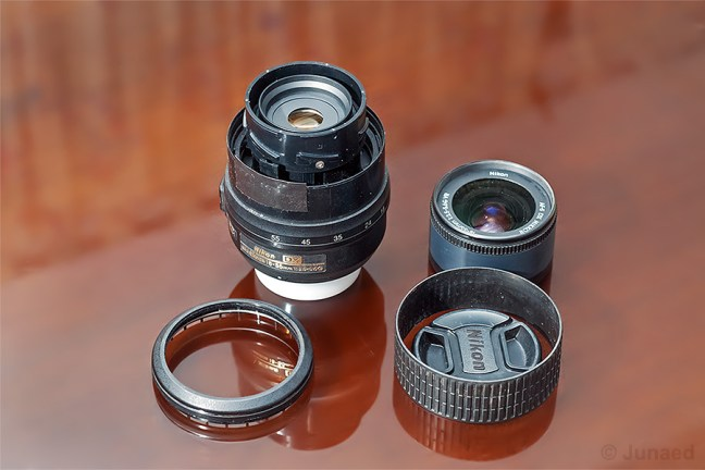 Convert Normal Zoom Lens to Macro lens