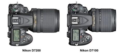 Nikon D7200 vs Nikon D7100