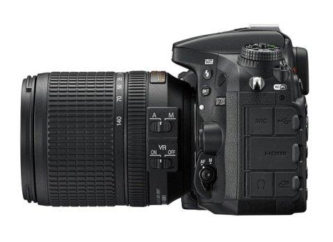 Nikon D7200 left