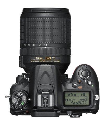 Nikon D7200 top