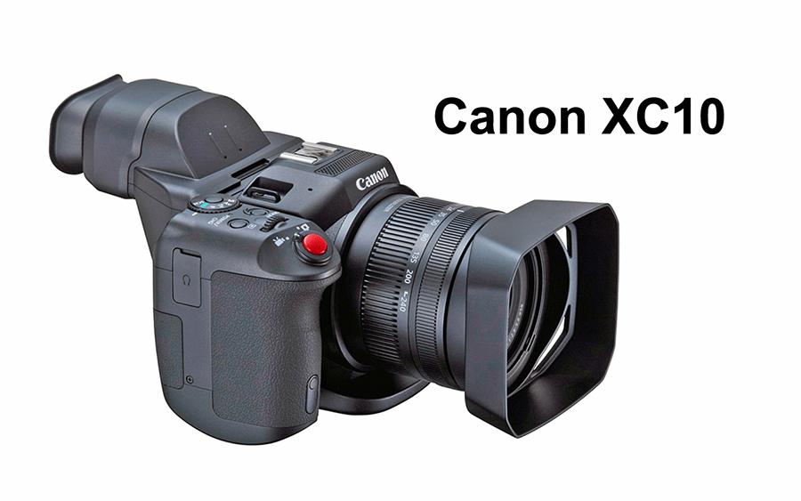 Canon XC10- 4K Movie and Stills Camcorder