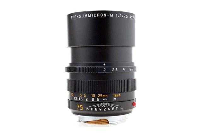 Leica Apo-Summicron-M 75mm f2 ASPH Lens 05