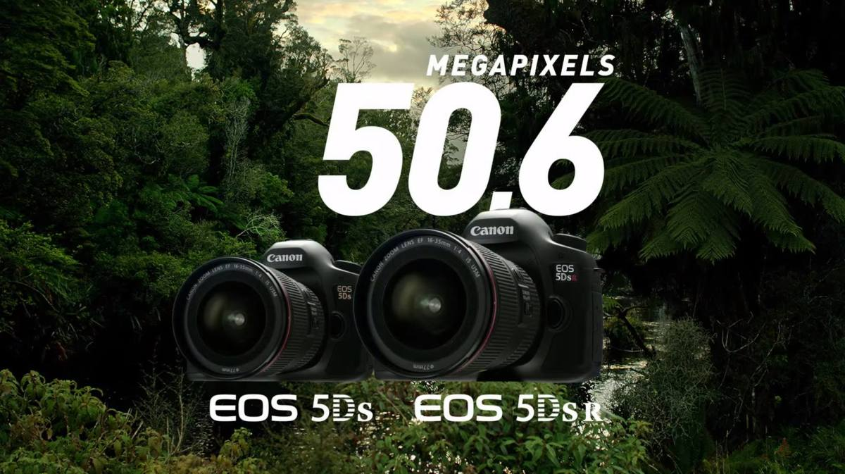 EOS 5Ds & 5Ds R