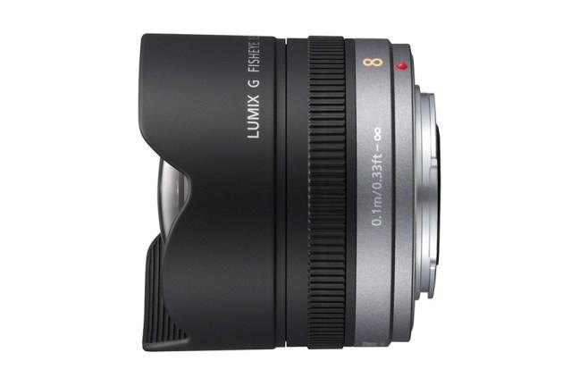 Panasonic Lumix G 8mm f:3.5 Fisheye Lens 02