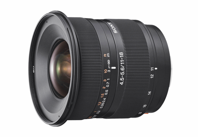 Sony DT 11–18mm F4.5–5.6 ( SAL1118 ) 01