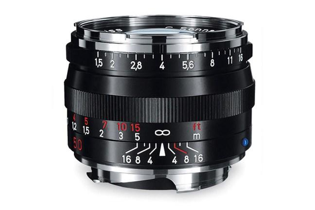 Zeiss C Sonnar T* 50mm f1.5 ZM Lens 01