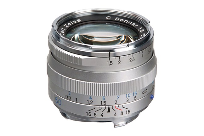 Zeiss C Sonnar T* 50mm f1.5 ZM Lens 02