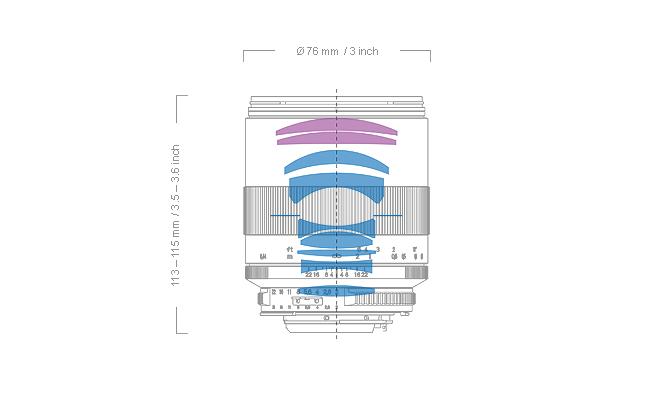 Zeiss Makro-Planar T* 100mm f2 Lens 09