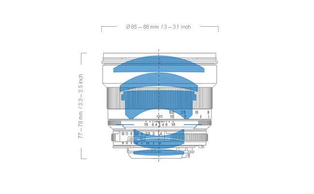 Zeiss Planar T* 85mm f1.4 Lens 12
