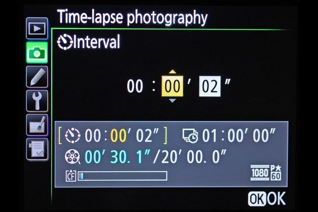 Nikon D810 Menu 03
