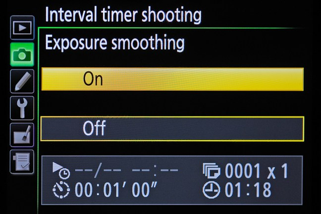 Nikon D810 Menu 07