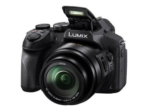Panasonic Lumix DMC-FZ300 Pop Up Flash