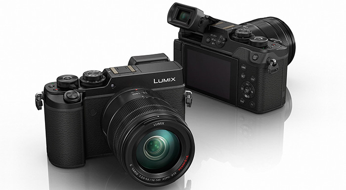 Panasonic Lumix DMC-GX8 with Lens