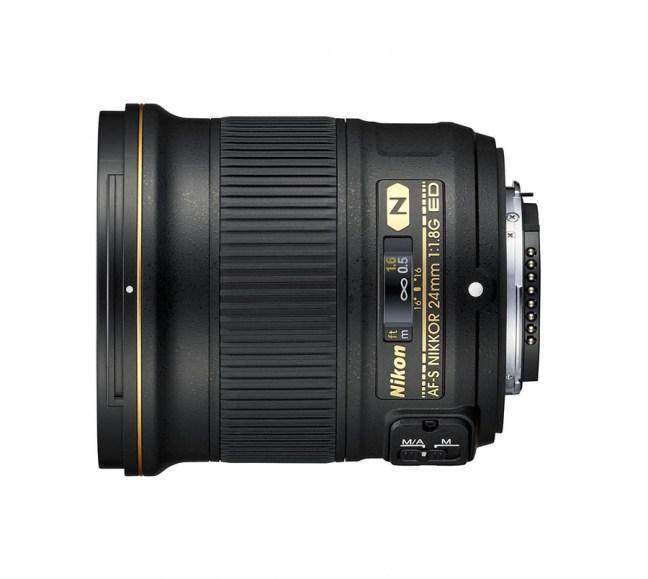 Nikon AF-S NIKKOR 24mm f:1.8G ED Lens 01