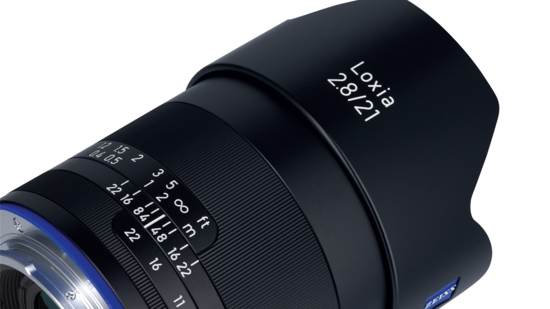 Zeiss Loxia 21mm f:2.8 lens for sony