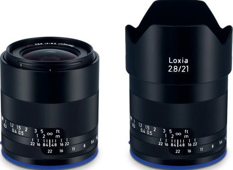 Zeiss Loxia 21mm f:2.8 lens