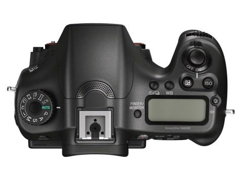 Sony Alpha a68 - Top