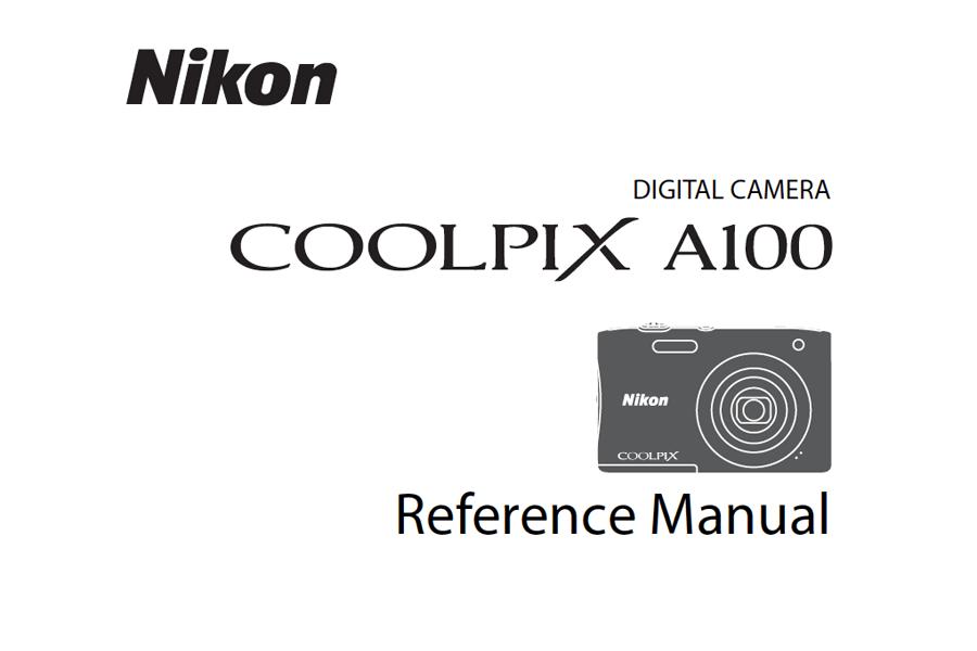 Nikon COOLPIX A100 Manual pdf