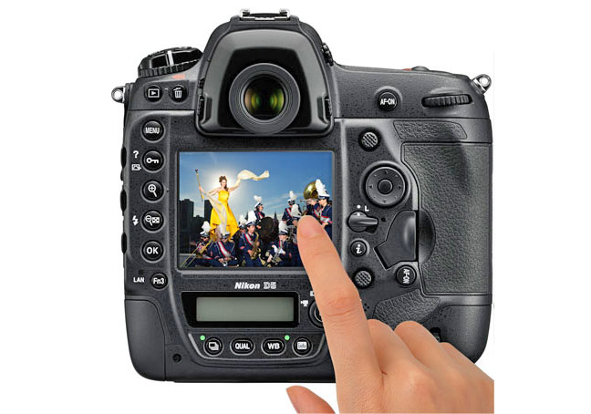 Nikon D5 Touch