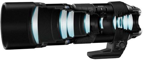 Olympus 300mm f4.0 PRO Lens _ design