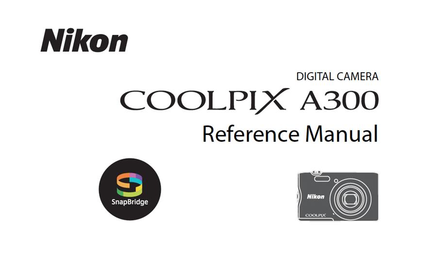 Nikon COOLPIX A300 Manual