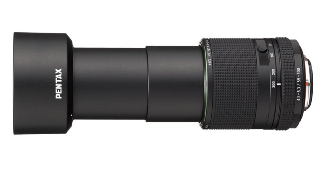 HD PENTAX-DA 55-300mm F4.5-6.3ED PLM WR RE