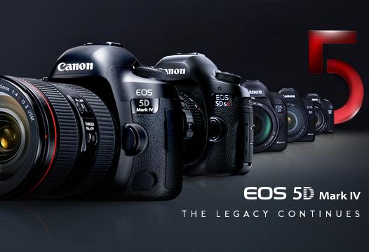 Canon- EOS 5D Mark IV