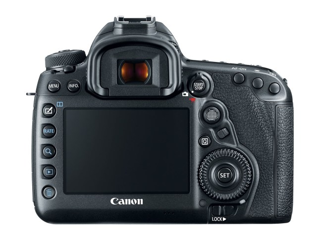 EOS 5D Mark IV - Back