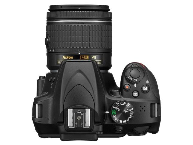 Nikon D3400 - top