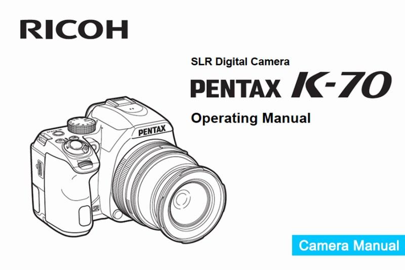 Pentax K-70 Manual pdf