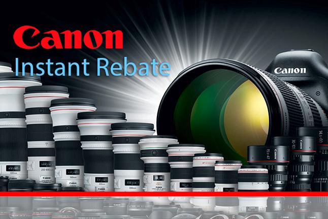 Canon Black Friday Instant Rebate
