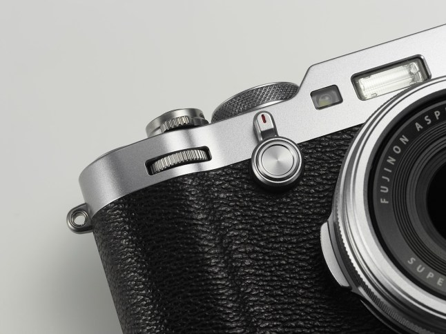Fujifilm X100F front