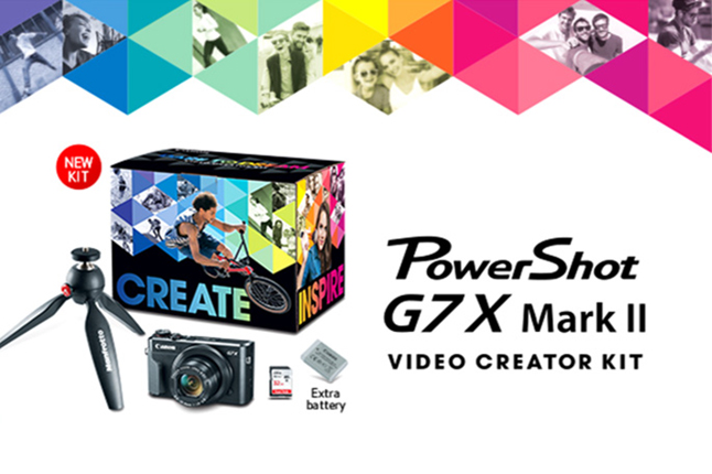 PowerShot G7 X Mark II Video Creator Kit