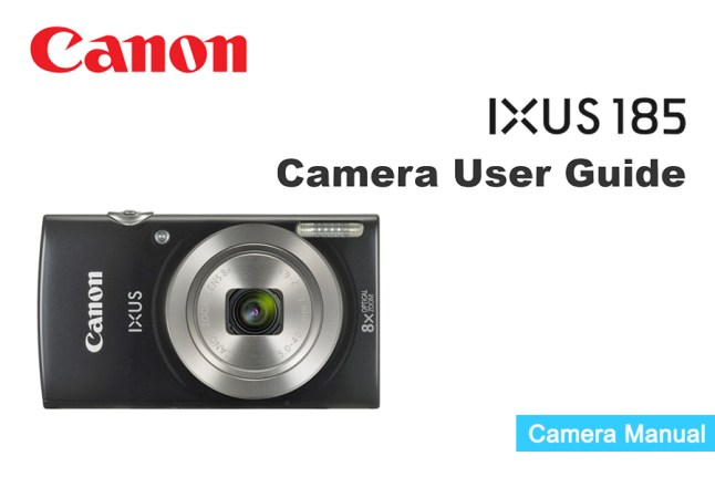 Canon IXUS 185 Manual