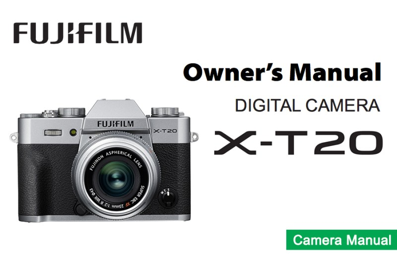 FUJIFILM X-T20 Owners Manual pdf