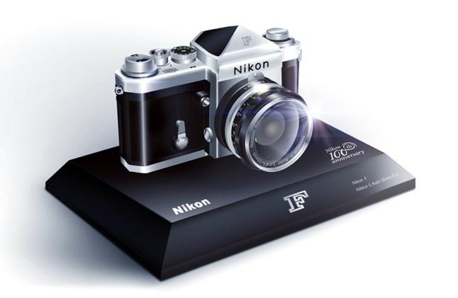 Nikon 100th Anniversary Miniature Nikon F Camera