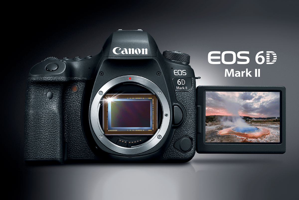 Canon EOS 6D Mark II - New Versatile Full-frame DSLR - Digital ...