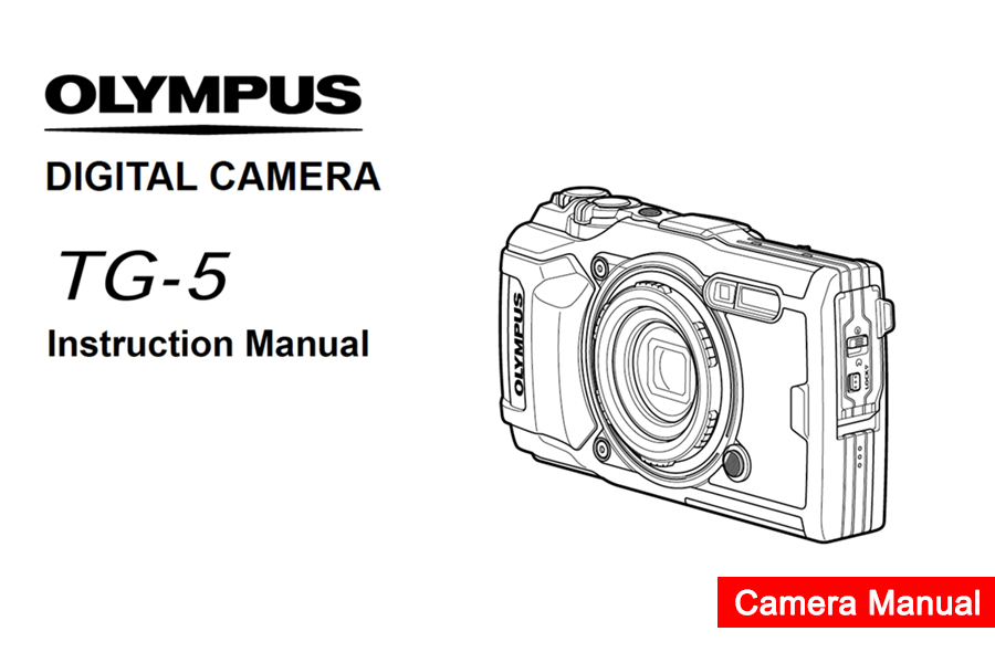 Olympus Stylus Tough TG-5 Instruction or User's Manual