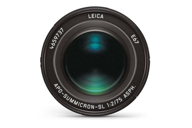 Leica APO-Summicron-SL 75mm f2 ASPH Lens
