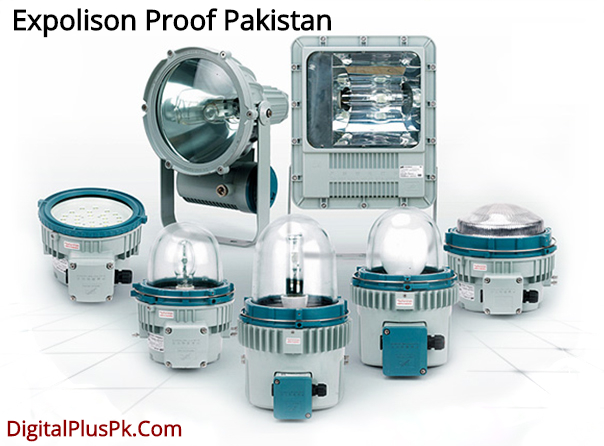 explosion proof items and products in Pakistan