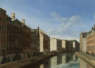 G.A. Berckheyde: De Gouden Bocht in de Herengracht