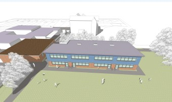 An artist's impression of the proposed St Alban's Primary