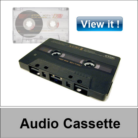 Audio cassette convert to CD