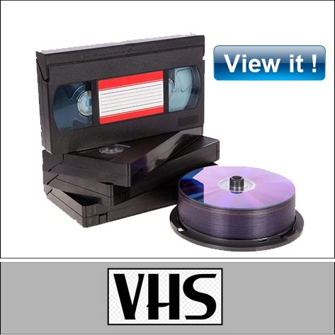 Video Tape Conversion shop