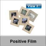Positive slide film