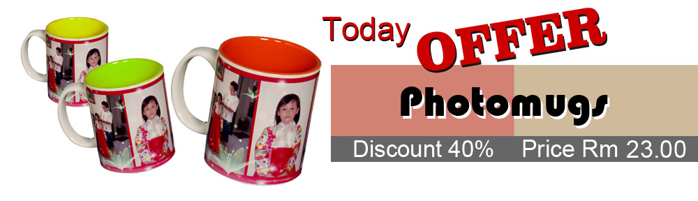 The best Personalized Mug Printing Offer in Penang