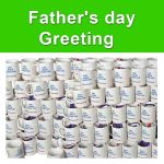 High quality fathers day greeting mugs