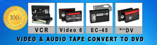 Video tape convert to DVD