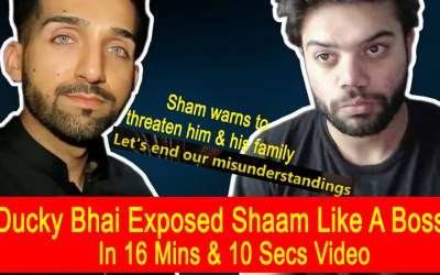 Ducky Bhai Destroyed Shaam Idrees Like A Boss With Proofs